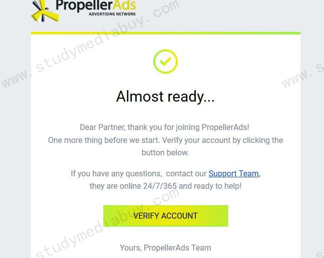 How to register propellerads